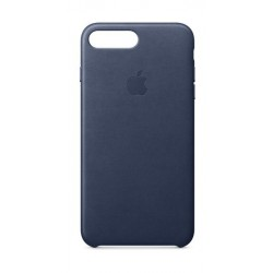 Apple iPhone 8 Plus and 7 Plus Leather Case - Midnight Blue Leather