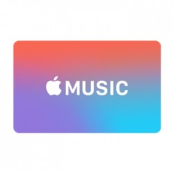 Apple Music 12 Month Membership Gift Card