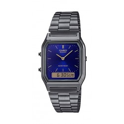 Casio 39mm Gent's Metal Analog Watch - (AQ-230GG-2ADF)