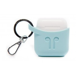 Podpockets AirPod Protection Case - Aqua Blue