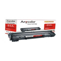 AnyColor 85A Black Toner 2100 Page Yield Printer Cartridge - AR-CE285A