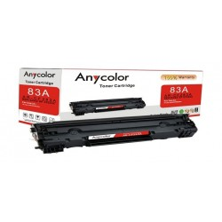 AnyColor 83A Black Toner 2000 Page Yield Printer Cartridge - AR-CF283A