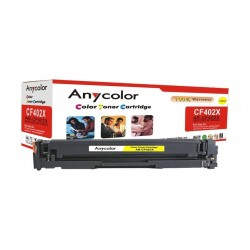 AnyColor 201X Yellow Toner 300 Page Yield Printer Cartridge - AR-CF402X