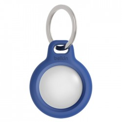 Belkin AirTag Secure Holder W/Key Ring – Blue