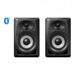 "Pioneer 4"" Bluetooth DJ Speaker Monitors (DM-40BT)- Black"