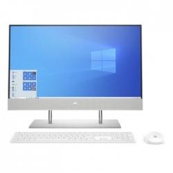 "HP 24-dp00001ne Intel Core i5 10th Gen. 8GB RAM 1TB SSD + 256GB HDD 23.8"" Desktop - Silver"