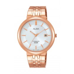 Alba AS9D70X1 Gents Casual Analog Watch Metal Strap