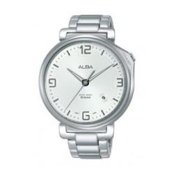 Alba Quartz 43mm Analog Gent's Metal Watch - AS9F91X1