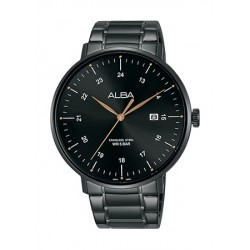 Alba 44mm Quartz Analog Gent's Metal Watch - AS9F93X1