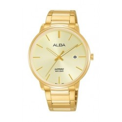 Alba Quartz 40mm Analog Gent's Metal Watch - AS9G58X1