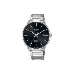 Alba 40mm Analog Gents Metal Watch (AS9G63X1) - Silver