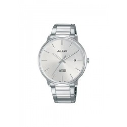 Alba 40mm Analog Gents Metal Watch (AS9G65X1) - Silver
