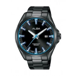 Alba Quartz 44mm Analog Gent's Metal Watch - AS9G73X1