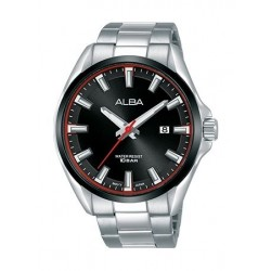 Alba Quartz 44mm Analog Gent's Metal Watch - AS9G77X1
