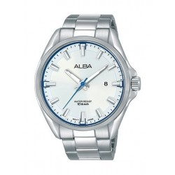 Alba Quartz 44mm Analog Gent's Metal Watch - AS9G81X1
