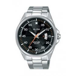 Alba Quartz 44mm Analog Gent's Metal Watch - AS9G91X1