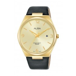 Alba 41mm Men's Analog Casual Leater Watch - (AS9H94X1)