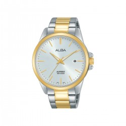 Alba 41mm Analog Gents Metal Watch (AS9J06X1) - Silver/Gold