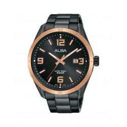 Alba 44mm Analog Gents Metal Casual Watch (AS9J16X1)