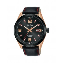 Alba 100mm Analog Gents Leather Fashion Watch (AS9J24X1)