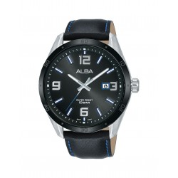 Alba 100mm Analog Gents Leather Fashion Watch (AS9J25X1)