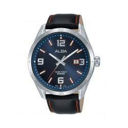 Alba 100mm Analog Gents Leather Fashion Watch (AS9J27X1)