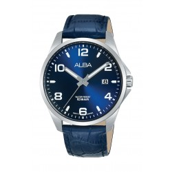 Alba 40mm Men's Analog Casual Leater Watch - (AS9J53X1)