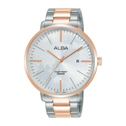 Alba 44mm Analog Gents Metal Casual Watch (AS9J78X1)
