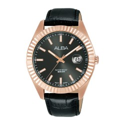 Alba 42mm Analog Gents Leather Casual Watch -  (AS9K02X1)