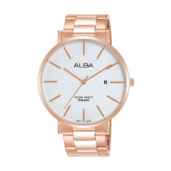 Alba 42mm Gent's Analog Casual Metal Watch - (AS9K06X1)