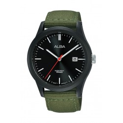 Alba 42mm Gent's Analog Nylon Sports Watch - (AS9K23X1)