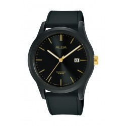 Alba 42mm Gent's Analog Silicon Sports Watch - (AS9K29X1)