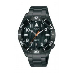 Alba 40mm Gent's Analog Sports Metal Watch - (AS9K37X1)