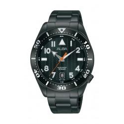 Alba 40mm Gent's Analog Sports Metal Watch - (AS9K37X1)