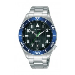Alba 40mm Gent's Analog Sports Metal Watch - (AS9K41X1)