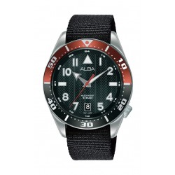 Alba 40mm Gent's Analog Rubber Sport Watch - (AS9K47X1)