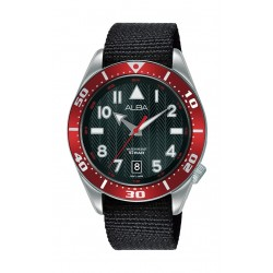 Alba 40mm Gent's Analog Rubber Sport Watch - (AS9K49X1)