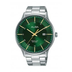 Alba 44mm Gent's Metal Analog Casual Watch - AS9K95X1