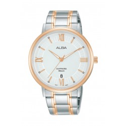Alba 41mm Gent's Metal Analog Casual Watch - AS9L22X1