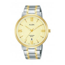 Alba 41mm Gent's Metal Analog Casual Watch - AS9L24X1
