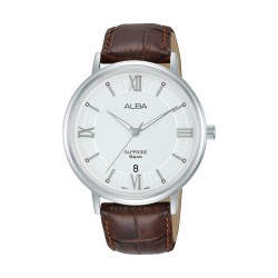 Alba 41mm Gent's Leather Analog Casual Watch - AS9L29X1