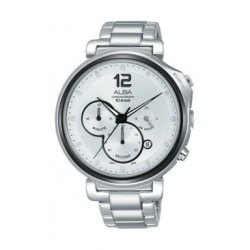 Alba Quartz 44mm Chronograph Gent's Metal Watch - AT3E15X1