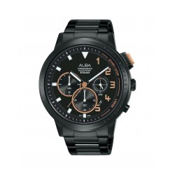 Alba 44mm Chronograph Gents Metal Casual Watch (AT3F31X1)