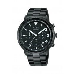 Alba 43mm Chronograph Gents Metal Watch (AT3F43X1)