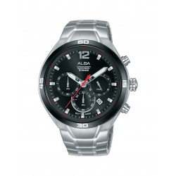 Alba 44mm Chronograph Ladies Gents Casual Watch (AT3F81X1)
