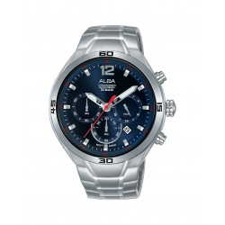 Alba 44mm Chronograph Gents Metal Casual Watch (AT3F83X1)