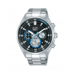 Alba 44mm Chronograph Gents Metal Watch (AT3F91X1)