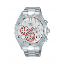 Alba 44mm Chronograph Gents Metal Watch (AT3F93X1)