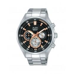 Alba 44mm Chronograph Gents Metal Watch (AT3G05X1)