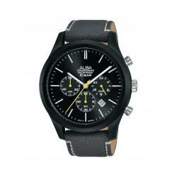 Alba 44mm Chronograph Gents Fabric Casual Watch (AT3G21X1)